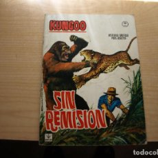 Cómics: KUNGOO - NÚMERO 2 - NÚMERO 2 - SIN REMISION - FORMATO GRAPA - AÑO 1965 - VERTICE. Lote 100169491
