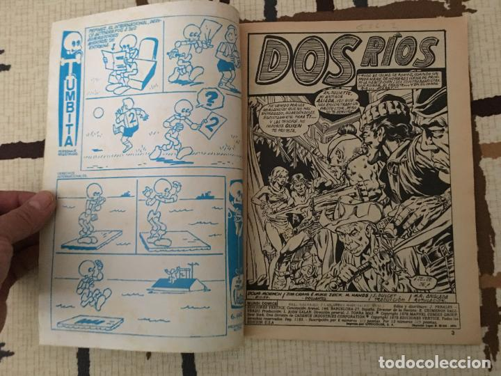 Cómics: Shang Chi. Ediciones Vertice Vol. 1 nº 50. Relatos Salvajes. DOS RIOS - Foto 2 - 100455155