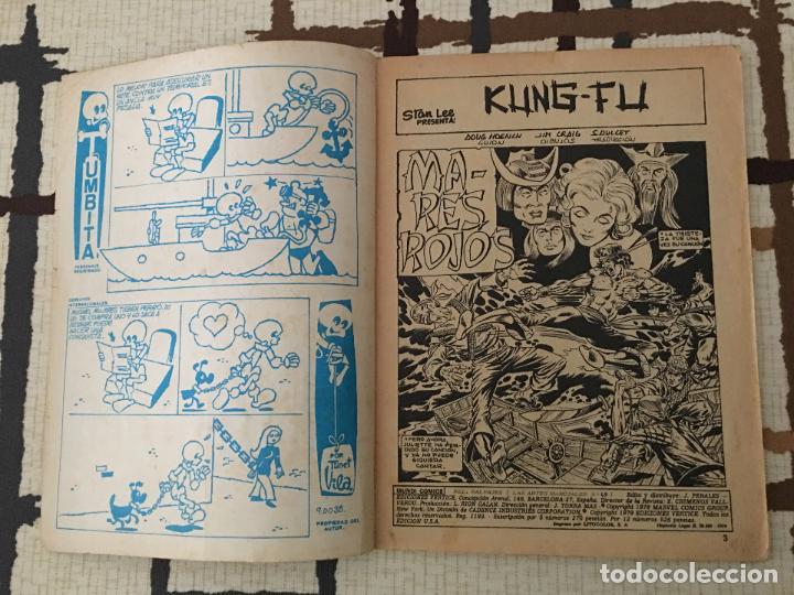 Cómics: Shang Chi. Ediciones Vertice Vol. 1 nº 49. Relatos Salvajes. MARES ROJOS. - Foto 2 - 100456047