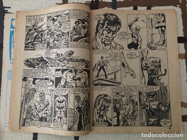 Cómics: Shang Chi. Ediciones Vertice Vol. 1 nº 49. Relatos Salvajes. MARES ROJOS. - Foto 4 - 100456047