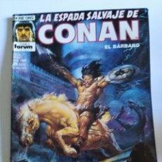 Cómics: LA ESPADA SALVAJE DE CONAN, 1º EDICIÓN, Nº 169, SERIE ORO, FORUM. Lote 100515531
