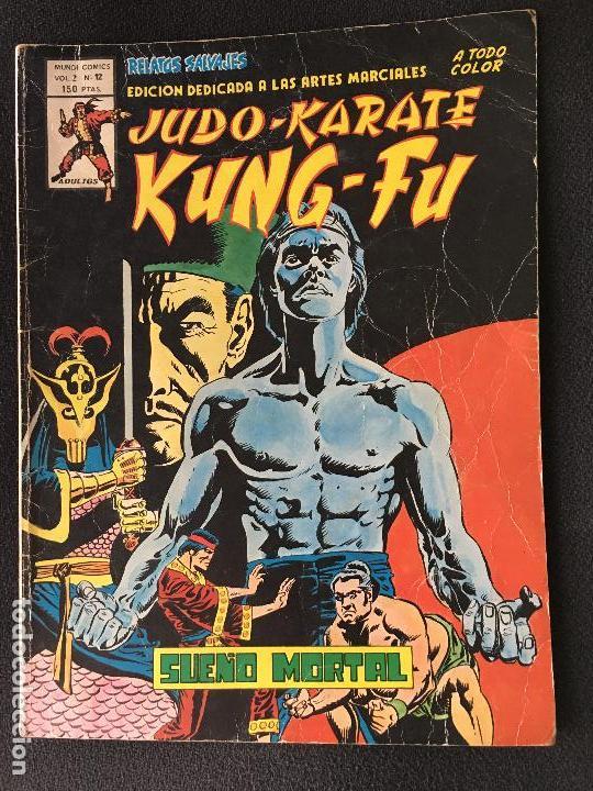 SHANG CHI. EDICIONES VERTICE VOL. 2 Nº 12. RELATOS SALVAJES. SUEÑO MORTAL. (Tebeos y Comics - Vértice - Relatos Salvajes)