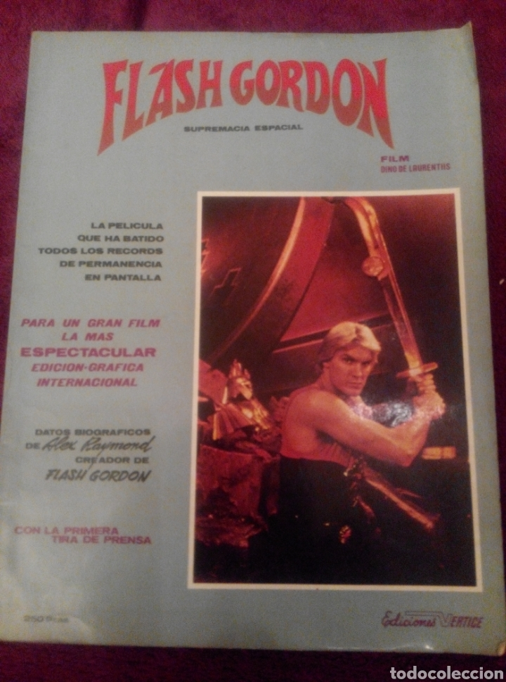 FLASH GORDON. SUPREMACÍA ESPACIAL. (Tebeos y Comics - Vértice - Flash Gordon)