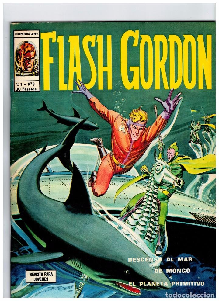 FLASH GORDON VOL.1 Nº 3 -EXCELENTE- (Tebeos y Comics - Vértice - Flash Gordon)