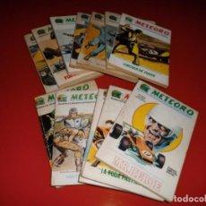 Cómics: METEORO VOL. 1 - Nº 1 AL 12 COMPLETA - VERTICE. Lote 101320639
