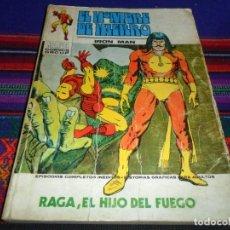 Cómics: VÉRTICE VOL. 1 EL HOMBRE DE HIERRO Nº 27. 25 PTS. 1973. RAGA, EL HIJO DEL FUEGO.. Lote 101380579