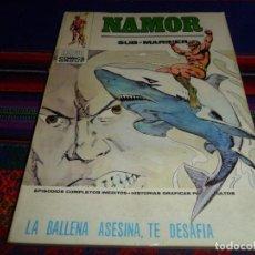 Fumetti: VÉRTICE VOL. 1 NAMOR 33 Y ÚLTIMO. 30 PTS. 1974. LA BALLENA ASESINA, DESAFÍA. BUEN ESTADO.. Lote 101381315