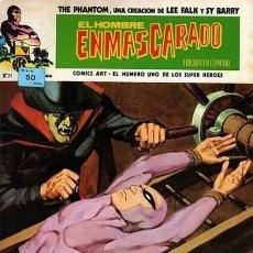 Cómics: EL HOMBRE ENMASCARADO - V-1 Nº 21 - EL DICTADOR- 1975-RARO Y MAGNÍFICO NÚMERO-LEAN- 7213. Lote 101574371