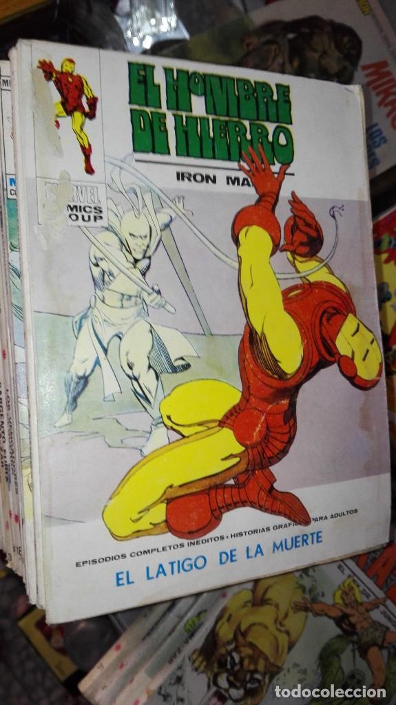 EL HOMBRE DE HIERRO EDICIONES INTERNACIONALES (Tebeos y Comics - Vértice - Hombre de Hierro)