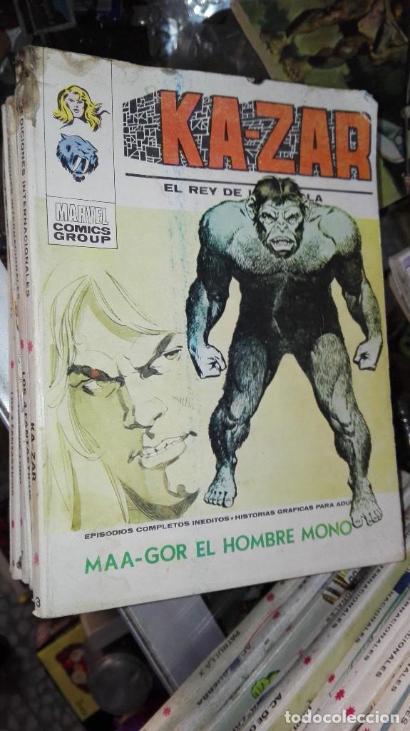 KAZAR.VERTICE. VOLUMEN 1. NUMERO 3. MAA-GOR EL HOMBRE MONO (Tebeos y Comics - Vértice - Otros)