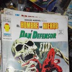 Cómics: EDICIONES VÉRTICE MARVEL V 2 N.º 19 EL HOMBRE DE HIERRO Y DAN DEFENSOR EL ATAQUE DE LOS MONOS 1974 I. Lote 101691443