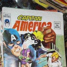Cómics: VÉRTICE VOL. 2 CAPITÁN AMÉRICA Nº 4. 30 PTS. 1974. ARCOS Y FLECHAS.. Lote 101700799