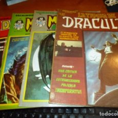 Cómics: ESCALOFRIO, LA TUMBA DE DRACULA Nº 2, MONSTERS UNLEASHED Nº 16 Y 19, DRACULA LIVES Nº 28. Lote 101712111
