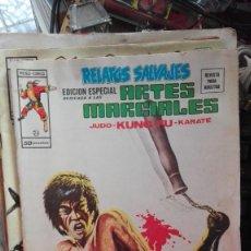 Cómics: RELATOS SALVAJES ARTES MARCIALES Nº 24 JUDO- KARATE- KUNG FU LA LEYENDA DEL DRAGON AÑO 1976. Lote 101735707