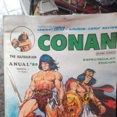 Cómics: CONAN ANUAL '80 - VERTICE. Lote 101741687