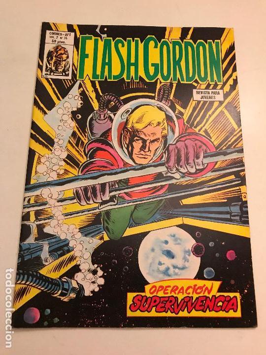FLASH GORDON VOL 2 V 2 Nº 14. VERTICE 1980 (Tebeos y Comics - Vértice - Flash Gordon)
