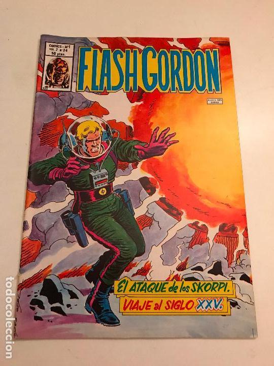 FLASH GORDON VOL 2 V 2 Nº 24. VERTICE 1980 (Tebeos y Comics - Vértice - Flash Gordon)