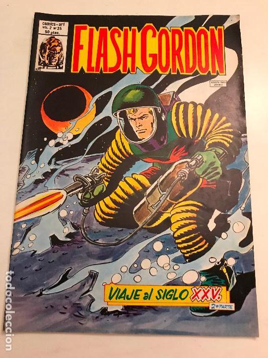 FLASH GORDON VOL 2 V 2 Nº 25. VERTICE 1980 (Tebeos y Comics - Vértice - Flash Gordon)