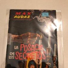 Cómics: MAX AUDAZ VOL 1 V 1 GRAPA Nº 6. LA POSADA DE LOS SECRETOS. VERTICE 1965. Lote 101978467