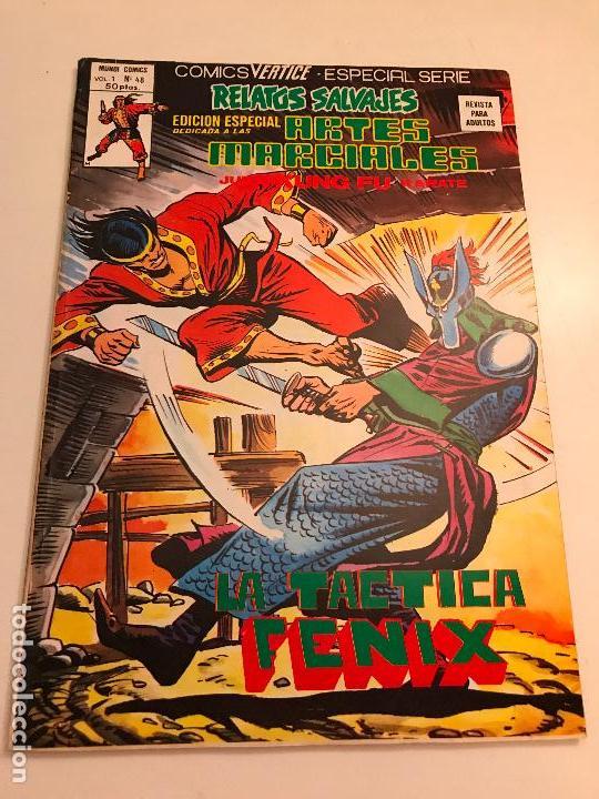 RELATOS SALVAJES ARTES MARCIALES VOL 1 V 1 Nº 48. VERTICE 1978 (Tebeos y Comics - Vértice - Relatos Salvajes)
