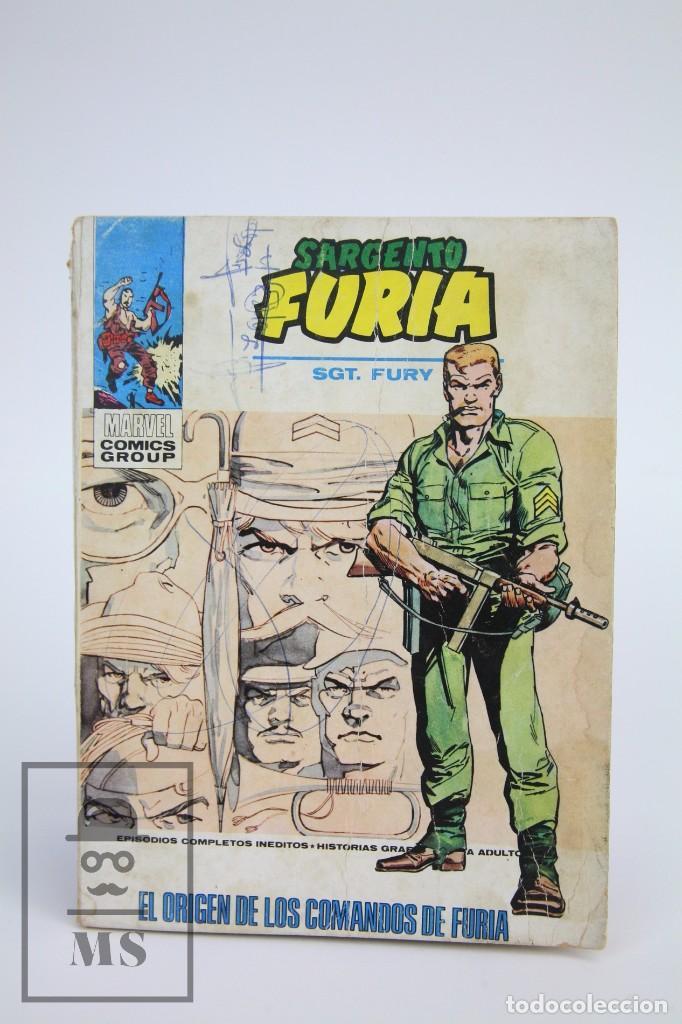 CÓMIC SARGENTO FURIA / EL ORIGEN DE LOS COMANDOS DE FURIA Nº 17 - EDICIONES VERTICE - AÑO 1972 (Tebeos y Comics - Vértice - Furia)