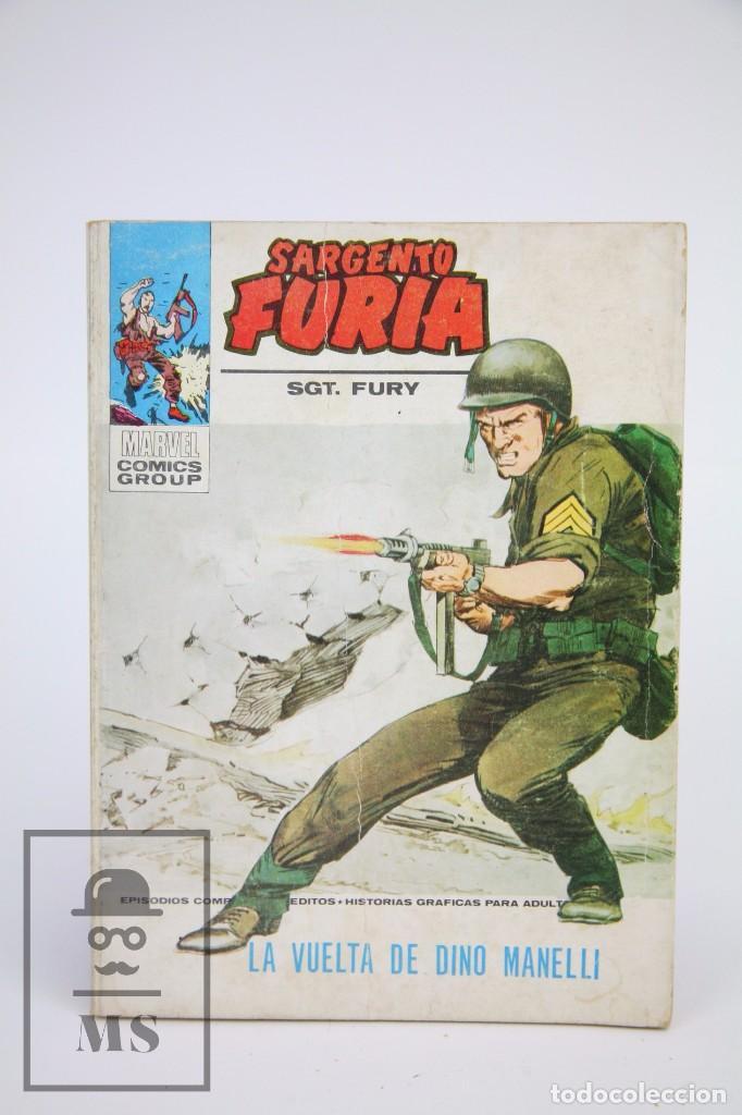 CÓMIC SARGENTO FURIA / LA VUELTA DE DINO MANELLI Nº 21 - EDICIONES VERTICE - AÑO 1973 (Tebeos y Comics - Vértice - Furia)