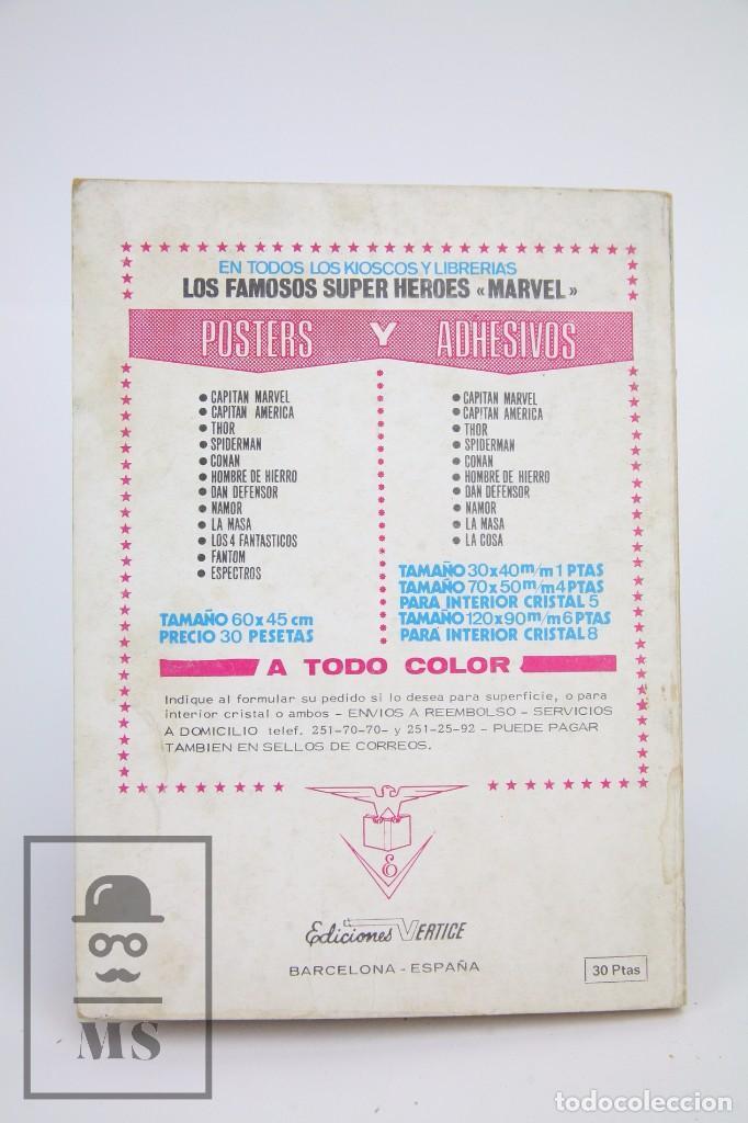 Cómics: Cómic Sargento Furia / La Vuelta De Dino Manelli Nº 21 - Ediciones Vertice - Año 1973 - Foto 3 - 102207199