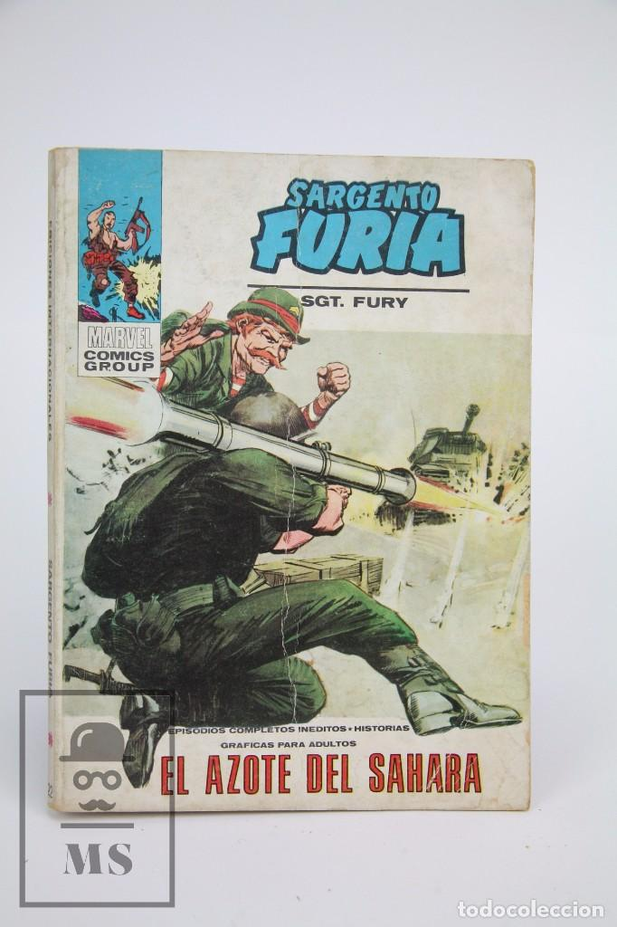 CÓMIC SARGENTO FURIA / EL AZOTE DEL SAHARA Nº 22 - EDICIONES VERTICE - AÑO 1973 (Tebeos y Comics - Vértice - Furia)