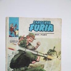 Cómics: CÓMIC SARGENTO FURIA / EL AZOTE DEL SAHARA Nº 22 - EDICIONES VERTICE - AÑO 1973. Lote 102207875