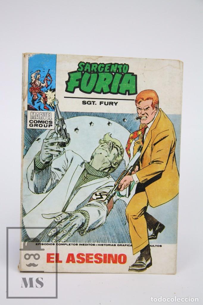 CÓMIC SARGENTO FURIA / EL ASESINO Nº 26 - EDICIONES VERTICE - AÑO 1974 (Tebeos y Comics - Vértice - Furia)