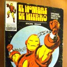 Cómics: EL HOMBRE DE HIERRO. Nº 24. VÉRTICE. TACO. 25 PTAS. Lote 102985967