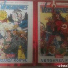 Cómics: VENGADORES VENGANZA FINAL Y VENGANZA MORTAL. Lote 103148719