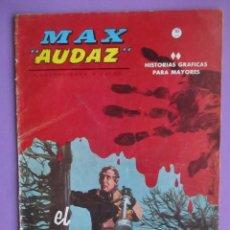 Cómics: MAX AUDAZ Nº 4 VERTICE GRAPA, 21X30 CM ¡¡¡¡BUEN ESTADO Y DIFICIL!!!!!. Lote 103159939