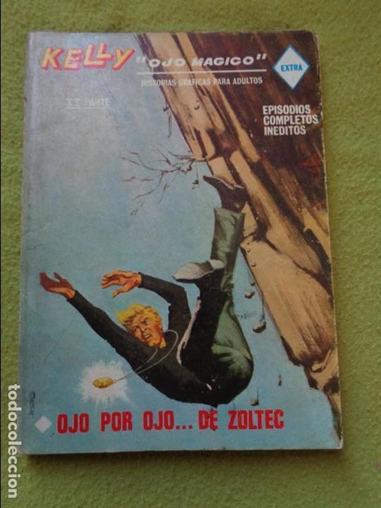 VÉRTICE VOL. 1 KELLY OJO MÁGICO Nº 13. 25 PTS. 1969 --- COMPLETO (Tebeos y Comics - Vértice - Otros)