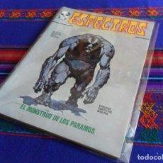 Cómics: VÉRTICE ESPECTROS Nº 26. 1972. 25 PTS. EL MONSTRUO DE LOS PÁRAMOS.. Lote 103411187