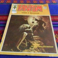 Cómics: VÉRTICE VOL. 2 FANTOM Nº 16. 1975. SATÁN EN ESA LUZ, OSCURIDAD. RARO.. Lote 103411455