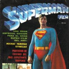 Cómics: REVISTA - SUPERMAN FILM - VERTICE, 1979. INCLUYE COMIC - EL ORIGEN DE SUPERMAN -. Lote 103480571