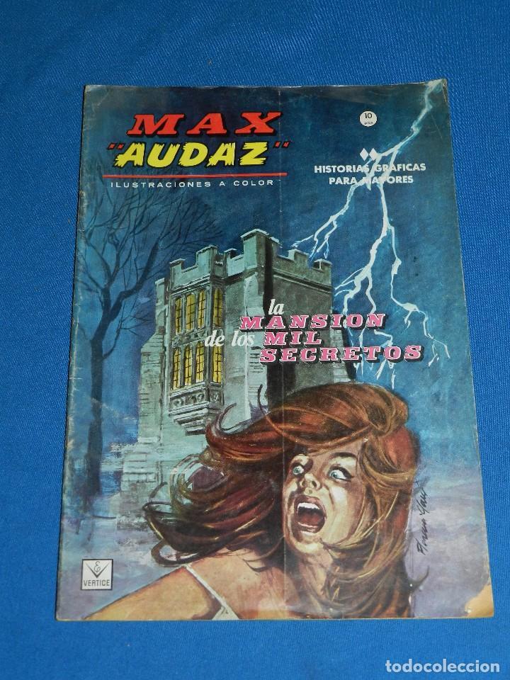 Cómics: (M1) MAX AUDAZ NUM 1 - 2 - 3 - 4 , VERTICE GRAPA 1965 , SEÑALES DE USO - Foto 2 - 103508099