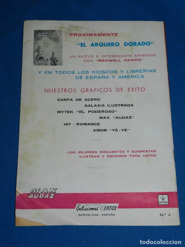 Cómics: (M1) MAX AUDAZ NUM 1 - 2 - 3 - 4 , VERTICE GRAPA 1965 , SEÑALES DE USO - Foto 9 - 103508099