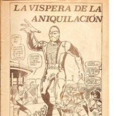 Cómics: MUNDI COMICS - Nº 8 V. 3 LA MASA, ANIQUILACIÓN, 1974 FALTA PORTADA. Lote 103533291