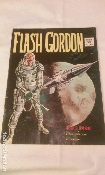 FLASH GORDON Vº 1 Nº 1 EDICIONES VERTICE AÑO 1974 (Tebeos y Comics - Vértice - Flash Gordon)