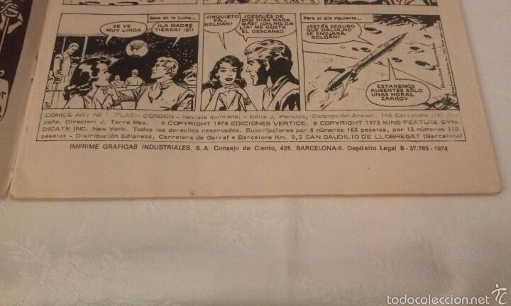 Cómics: FLASH GORDON Vº 1 Nº 1 EDICIONES VERTICE AÑO 1974 - Foto 7 - 103864979