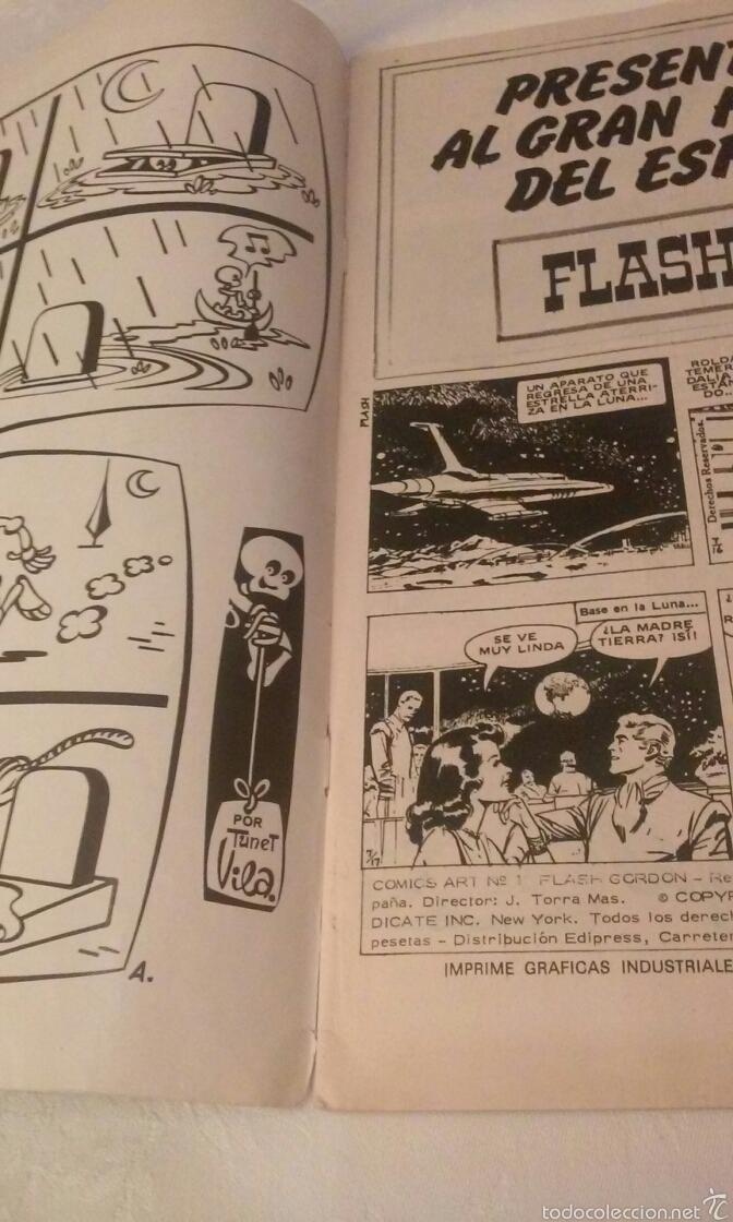 Cómics: FLASH GORDON Vº 1 Nº 1 EDICIONES VERTICE AÑO 1974 - Foto 9 - 103864979