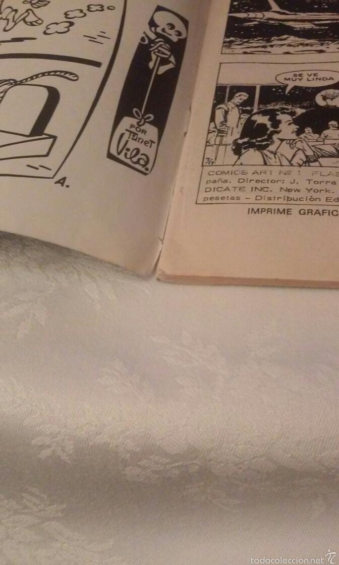 Cómics: FLASH GORDON Vº 1 Nº 1 EDICIONES VERTICE AÑO 1974 - Foto 10 - 103864979