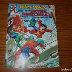 Cómics: RELATOS SALVAJES ARTES MARCIALES Nº 12 EDITA VERTICE. Lote 103969767