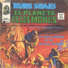 Cómics: EL PLANETA DE LOS MONOS Nº3. (V.2) EDITORIAL VÉRTICE, 1977. Lote 104085099