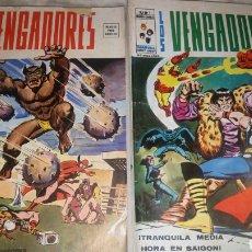 Cómics: LOS VENGADORES VERTICE V.2 NUMEROS 11 Y 14. Lote 104088476
