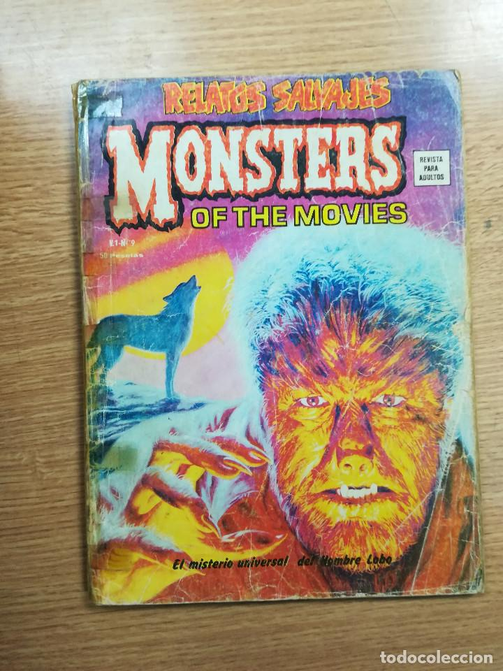 RELATOS SALVAJES VOL 1 #9 MONSTERS OF THE MOVIES (Tebeos y Comics - Vértice - Surco / Mundi-Comic)