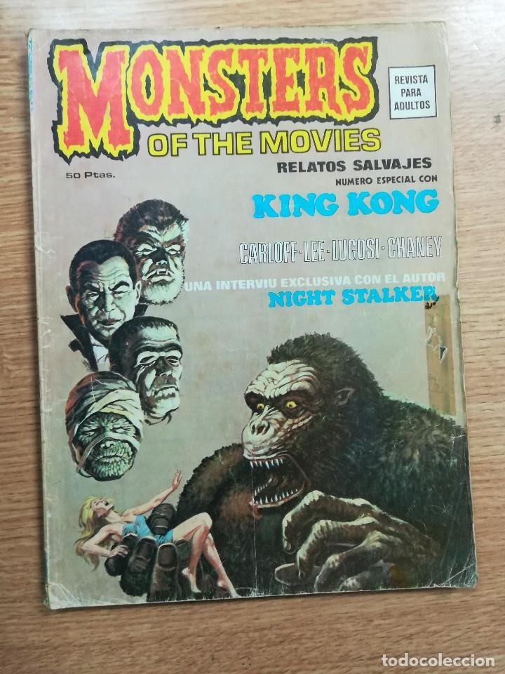 RELATOS SALVAJES VOL 1 MONSTERS OF THE MOVIES ESPECIAL CON KING KONG (Tebeos y Comics - Vértice - Surco / Mundi-Comic)