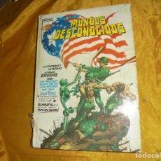 Cómics: MUNDOS DESCONOCIDOS. EDT VERTICE, RELATOS SALVAJES. TAPA DURA. 1975. Lote 104301375